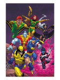 Uncanny X-Men: First Class No.2 Cover: Wolverine Affiches par Roger Cruz