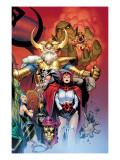 Thor: Tales of Asgard by Stan Lee & Jack Kirby No.6 Cover: Sif and Odin Prints by Coipel Olivier