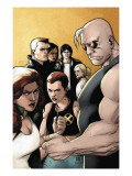 X-Factor 20 Cover: Madrox, Strong Guy, Wolfsbane, Siryn, Rictor, M, Miller and Layla Posters by Pham Khoi