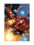 The Invincible Iron Man #1 Cover: Iron Man Poster van Joe Quesada