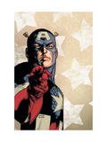 New Avengers 61 Cover: Captain America Posters par Immonen Stuart