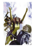 X-Men: First Class No.1 Cover: Invisible Woman, Cyclops, Marvel Girl, Beast, Angel and Iceman Prints
