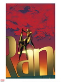 The Immortal Iron Fist No.19 Cover: Iron Fist Posters by Travel Foreman