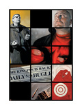 Daredevil 76 Cover: Daredevil, Urich and Ben Prints by Alex Maleev