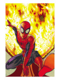 Spider-Man: With Great Power&No.3 Cover: Spider-Man Prints by Tony Harris