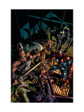 Dark Avengers No.10 Cover: Hawkeye Art by Mike Deodato