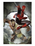 Assault on New Olympus Prologue 1 Cover: Spider-Man and Hercules Posters by Granov Adi