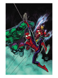 Free Comic Book Day 1 Cover: Spider-Man, Iron Man and Hulk Posters by David Nakayama