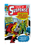 Tales Of Suspense 51 Cover: Scarecrow and Iron Man Prints by Don Heck