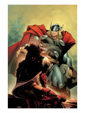 Thor No.5 Cover: Thor Poster by Olivier Coipel