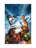 Iron Man vs. Whiplash No.3 Cover: Iron Man and Whiplash Art by Brandon Peterson