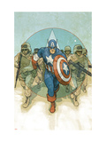 Captain America Theater of War: To Soldier On No.1 Cover: Captain America Posters by Noto Phil