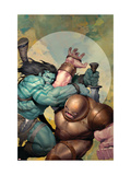 Incredible Hulk #602 Cover: Skaar and Juggernaut Posters af Ariel Olivetti