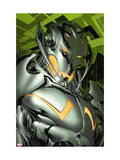 Annihilation: Conquest 4 Headshot: Ultron Prints by Tom Raney