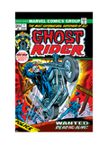 Ghost Rider 1 Cover: Ghost Rider Print by Gil Kane