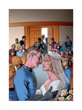 Fantastic Four: The Wedding Special No.1 Cover: Mr. Fantastic Affiches