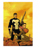 Punisher: War Zone No.6 Cover: Punisher Print by Steve Dillon