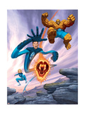 Ultimate Fantastic Four 6 Cover: Thing Poster by Dale Keown