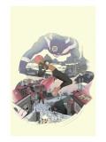 I Heart Marvel: Outlaw Love No.1 Cover: Bullseye Prints by Jon Proctor
