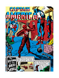 Captain America Comics 3 Cover: Captain America, Bucky and Red Skull Posters by Jack Kirby