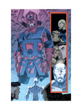 Marvel Adventures Fantastic Four No.26 Group: Galactus Art by Cory Hamscher