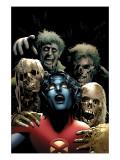 Nightcrawler 6 Cover: Nightcrawler Print by Land Greg