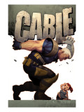 Cable 9 Cover: Cable Posters by Ariel Olivetti