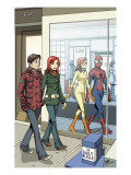 Spider-Man Loves Mary Jane 18 Cover: Spider-Man Prints by Hahn David