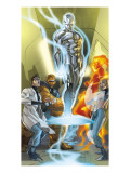 Ultimate Fantastic Four 43 Cover: Mr. Fantastic Poster par Ferry Pasqual