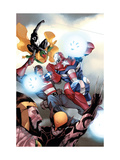 The Mighty Avengers No.32 Cover: Iron Patriot Posters by Khoi Pham