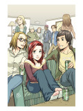 Spider-Man Loves Mary Jane 3 Cover: Mary Jane Watson Prints by Miyazawa Takeshi