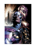 New Avengers No.6 Cover: Captain America Plakater af David Finch