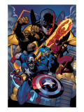 Marvel Knights Spider-Man 11 Group: Captain America Posters par Terry Dodson
