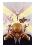 Mythos X-Men No.1 Cover: Professor X, Angel, Beast, Iceman, Cyclops, Marvel Girl and X-Men Poster