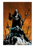 X-Men: Apocalypse Vs. Dracula No.1 Cover: Apocalypse and Dracula Prints by Henry Clayton