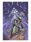 Weapon X No.23 Cover: Wolverine and Agent Zero Prints by Andy Park