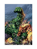 Incredible Hulk No.74 Cover: Hulk and Iron Man Posters by Mike Deodato Jr.