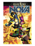 Nova 34 Cover: Nova and Sphinx Prints by Brandon Peterson