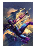 House Of M No.4 Cover: Hawkeye Posters by Brandon Peterson