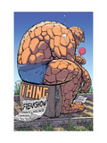 Thing: Freakshow 1 Cover: Thing Poster by Kolins Scott
