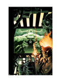 Incredible Hulk 84 Cover: Hulk, Pyro and Vanisher Affiches par Andy Brase