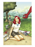 Spider-Man Loves Mary Jane Season 2 2 Cover Posters by Alphona Adrian