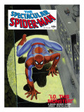 The Spectacular Spider-Man No.1 Cover: Spider-Man Crawling Print