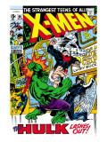 X-Men 66 Cover: Hulk, Beast, Iceman and Angel Prints by Buscema Sal