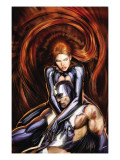 Secret Invasion: Inhumans No.4 Cover: Black Bolt and Medusa Poster by Sejic Stjepan