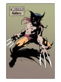 Wolverine No.10: Wolverine Prints by Kent Williams