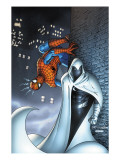 Marvel Team Up No.7 Cover: Moon Knight and Spider-Man Poster by Kolins Scott