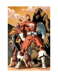 She-Hulk 34 Group: Red Guardian, Ursa Major, Darkstar and Crimson Dynamo Print by Cucca Vincenzo