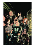 X-Factor No.1 Cover: Madrox, Strong Guy, Wolfsbane, Siryn, Rictor and Monet Posters by Ryan Sook