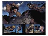 Wolverine: Soultaker No.4 Group: Wolverine and Zombie Fighting Kunstdrucke von Shin Nagasawa